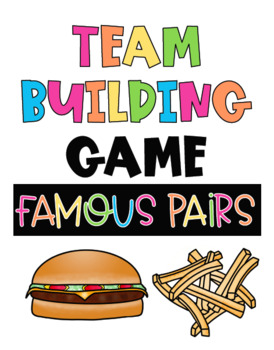 Back To School Team Building Game: Famous Pairs