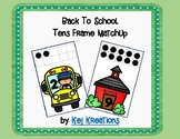 Back To School Tens Frame Matchup