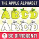 Back To School - The Apple Alphabet Clipart Letters (ENG.-SPAN.)