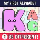Back To School - The Basic Alphabet Clipart