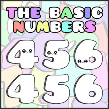 Back To School - The Basic Numbers Clipart