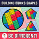 Back To School - The Building Bricks Shapes Clipart