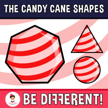 Back To School - The Candy Cane Shapes Clipart