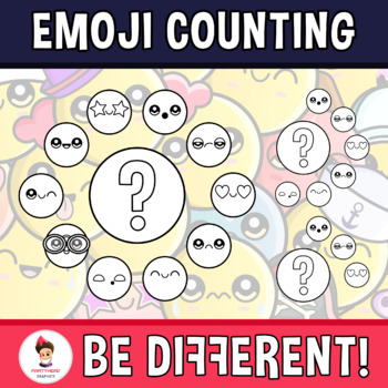 Back To School - The Emoji Counting Clipart
