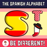 Back To School - The Spanish Alphabet Clipart Letters (ENG