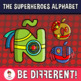 Back To School - The Superheroes Alphabet Clipart Letters (ENG.-SPAN.)