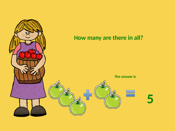 Back To School Themed Addition Word Problems (Sums to 10)