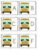 Back To School Themed Alphabet Read and Write the Room