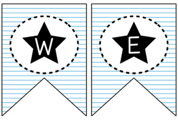 Back To School Themed Nameplates and Labels (Editable)