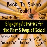 First Week of School Activities + 3 BONUS RESOURCES!