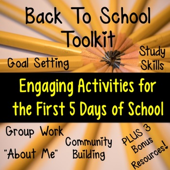 Back To School Toolkit for Middle School