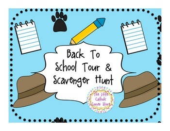 Back To School Tour & Scavenger Hunt