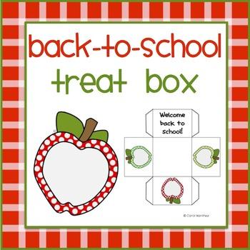 Back To School Treat Box