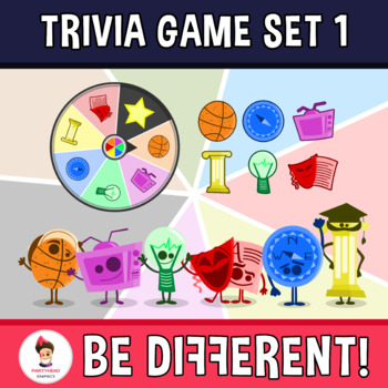 Back To School - Trivia Game V. 1 Clipart