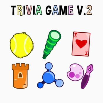 Back To School - Trivia Game V. 2 Clipart