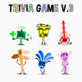 Back To School - Trivia Game V. 3 Clipart