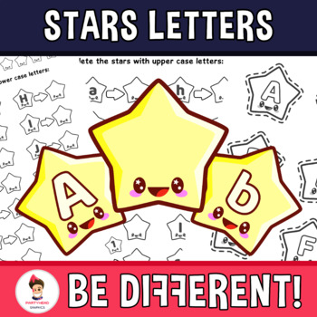 Back To School - Upper And Lower Case Letters Clipart