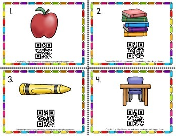Back To School Using QR Codes!