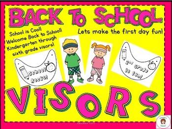 Back To School Visors