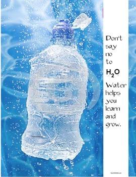 FREE Back To School Water Bottle Gift + Icebreakers