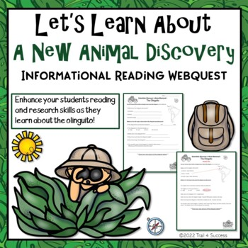 A New Animal Webquest - Meet the Olinguito