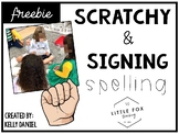 Scratchy Spelling + Signing Spelling ABC Centers