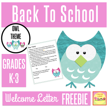 Welcome Parent Letter Template Teaching Resources | Teachers Pay ...
