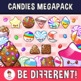 Candies Clipart (Candyland Megapack)