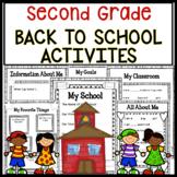 Back To School Activities For Second Grade