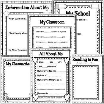 Back To School Activities For Second Grade