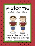 Back To School {Welcome Watermelon-Style}