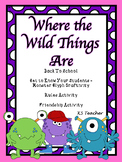 Back To School -  Where the Wild Things Are