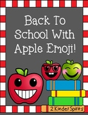 Back To School With Apple Emoji!