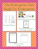 Back To School With Miss Bindergarten! Mini Pack