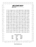 Back To School Word Search-FREE-OWL THEME