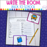 Back To School- Write The Room