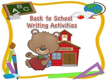 Back to School Writing