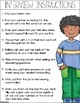 Back To School Informational Writing Assessment - Interview With A Classmate