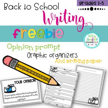 Back To School Writing Freebie