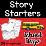 Back To School   Writing Prompts   Story Starters
