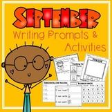 September Writing Prompts and Activities