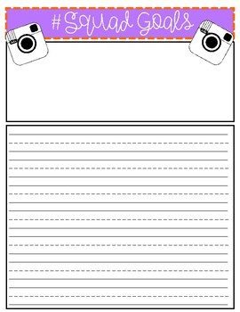 Back To School Writing and Craftivity Bundle