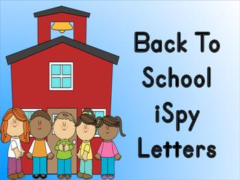 Back To School iSpy