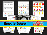 Back To School preschool curriculum package. Great for daycare and homeschool.