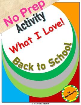 Back Top School : What I Love !