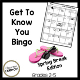Back from Spring Break Bingo with Pictures!