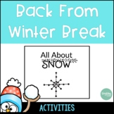 Back from Winter Break Survival Pack
