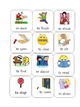 Back to school-Verbs