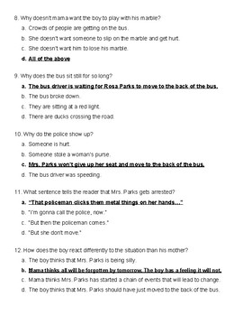 Back of the Bus Quiz Ready Gen 3rd Grade