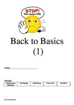 Back to Basics (1) - Run On Sentences